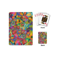 Colorful Autumn Playing Cards (mini) by KirstenStar