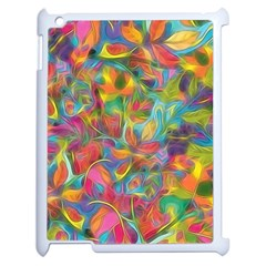 Colorful Autumn Apple Ipad 2 Case (white) by KirstenStar