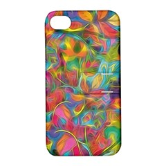 Colorful Autumn Apple Iphone 4/4s Hardshell Case With Stand by KirstenStar