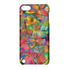 Colorful Autumn Apple Ipod Touch 5 Hardshell Case With Stand by KirstenStar
