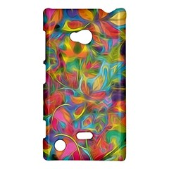 Colorful Autumn Nokia Lumia 720 Hardshell Case by KirstenStar
