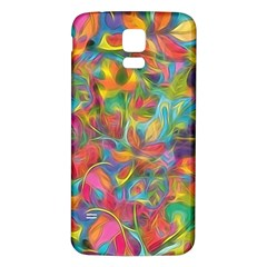 Colorful Autumn Samsung Galaxy S5 Back Case (white) by KirstenStar