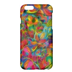 Colorful Autumn Apple Iphone 6 Plus Hardshell Case by KirstenStar