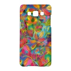 Colorful Autumn Samsung Galaxy A5 Hardshell Case  by KirstenStar