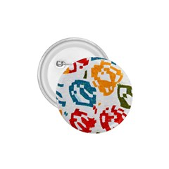 Colorful Paint Stokes 1 75  Button by LalyLauraFLM