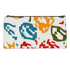 Colorful Paint Stokes Pencil Case by LalyLauraFLM