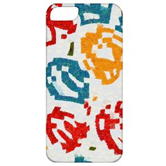 Colorful Paint Stokes Apple Iphone 5 Classic Hardshell Case by LalyLauraFLM