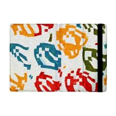 Colorful Paint Stokes Apple Ipad Mini Flip Case by LalyLauraFLM