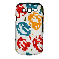Colorful Paint Stokes Samsung Galaxy S Iii Classic Hardshell Case (pc+silicone) by LalyLauraFLM