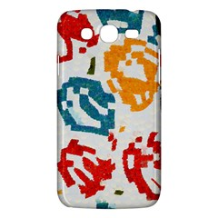 Colorful Paint Stokes Samsung Galaxy Mega 5 8 I9152 Hardshell Case  by LalyLauraFLM