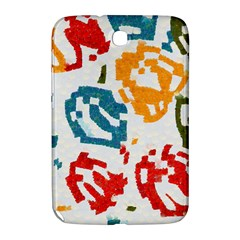 Colorful Paint Stokes Samsung Galaxy Note 8 0 N5100 Hardshell Case  by LalyLauraFLM