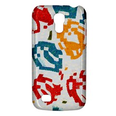 Colorful Paint Stokes Samsung Galaxy S4 Mini (gt I9190) Hardshell Case  by LalyLauraFLM