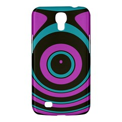 Distorted Concentric Circles Samsung Galaxy Mega 6 3  I9200 Hardshell Case by LalyLauraFLM
