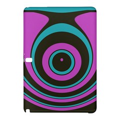 Distorted Concentric Circles	samsung Galaxy Tab Pro 12 2 Hardshell Case by LalyLauraFLM