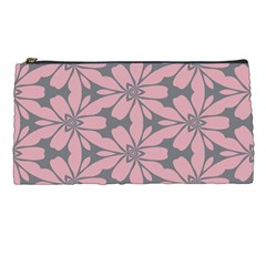 Pink flowers pattern Pencil Case by LalyLauraFLM