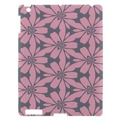 Pink Flowers Pattern Apple Ipad 3/4 Hardshell Case by LalyLauraFLM