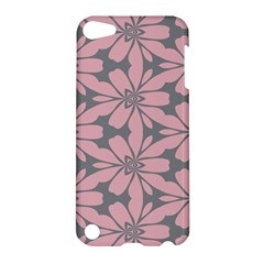 Pink Flowers Pattern Apple Ipod Touch 5 Hardshell Case by LalyLauraFLM
