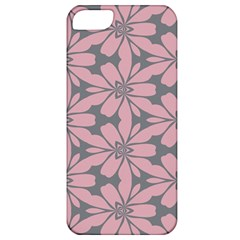 Pink Flowers Pattern Apple Iphone 5 Classic Hardshell Case by LalyLauraFLM
