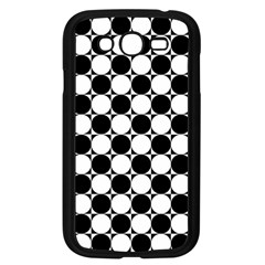 Black And White Polka Dots Samsung Galaxy Grand Duos I9082 Case (black)