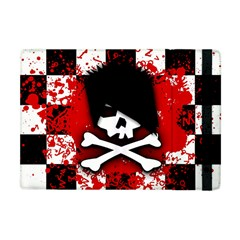 Emo Skull Apple Ipad Mini Flip Case by ArtistRoseanneJones