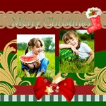 merry christmas - ScrapBook Page 12  x 12