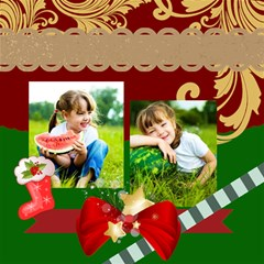 Merry Christmas By Xmas   Scrapbook Page 12  X 12    Gqbmuruhe4ff   Www Artscow Com 12 x12 Scrapbook Page - 2