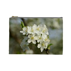 Spring Flowers Cosmetic Bag (large) by anstey