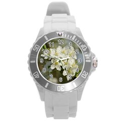 Spring Flowers Plastic Sport Watch (large) by anstey