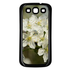 Spring Flowers Samsung Galaxy S3 Back Case (black) by anstey