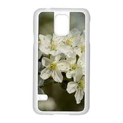 Spring Flowers Samsung Galaxy S5 Case (white) by anstey