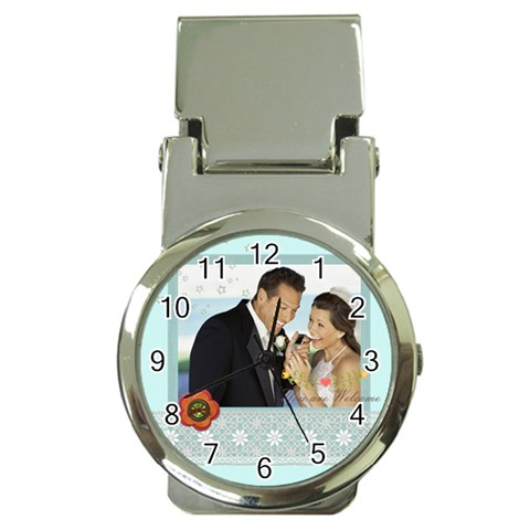 Wedding By Wedding   Money Clip Watch   Cpo4mz2hii33   Www Artscow Com Front