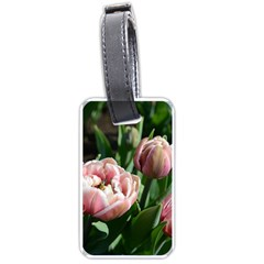 Tulips Luggage Tag (one Side) by anstey