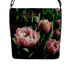 Tulips Flap Closure Messenger Bag (l) by anstey