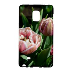 Tulips Samsung Galaxy Note Edge Hardshell Case by anstey
