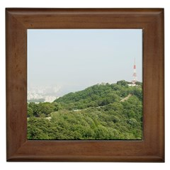 Seoul Framed Ceramic Tile by anstey