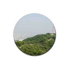 Seoul Drink Coaster (round) by anstey