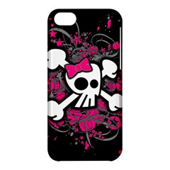 Girly Skull And Crossbones Apple Iphone 5c Hardshell Case