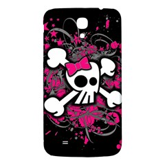 Girly Skull And Crossbones Samsung Galaxy Mega I9200 Hardshell Back Case by ArtistRoseanneJones