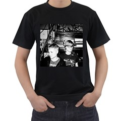 Bass81111 1010 Men s Two Sided T Shirt (black) by shutterdog