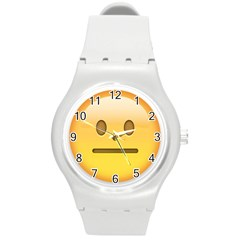 Neutral Face  Plastic Sport Watch (Medium) by Bauble