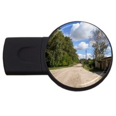Dusty Road 4gb Usb Flash Drive (round) by ansteybeta