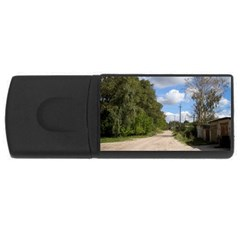 Dusty Road 4gb Usb Flash Drive (rectangle) by ansteybeta