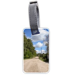 Dusty Road Luggage Tag (one Side) by ansteybeta
