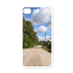 Dusty Road Apple Iphone 4 Case (white) by ansteybeta