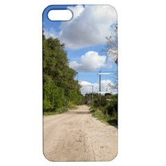 Dusty Road Apple Iphone 5 Hardshell Case With Stand by ansteybeta