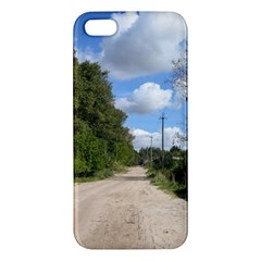 Dusty Road Iphone 5s Premium Hardshell Case by ansteybeta