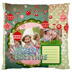 Xmas By Xmas   Large Flano Cushion Case (two Sides)   Ghrggp9x8rlo   Www Artscow Com Front