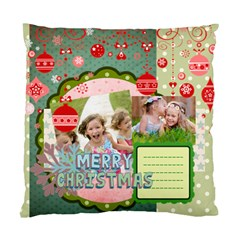 Xmas By Xmas   Standard Cushion Case (two Sides)   Cxmz8hnqsnsg   Www Artscow Com Front