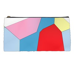 Colorful Pastel Shapes Pencil Case