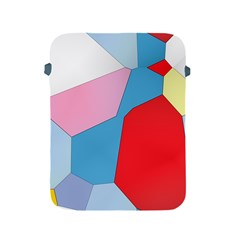 Colorful Pastel Shapes Apple Ipad 2/3/4 Protective Soft Case by LalyLauraFLM